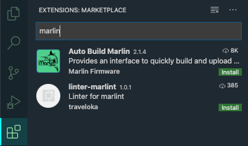 Auto Build Marlin extension