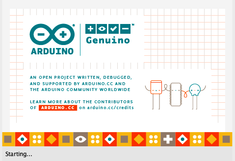 Arduino starting