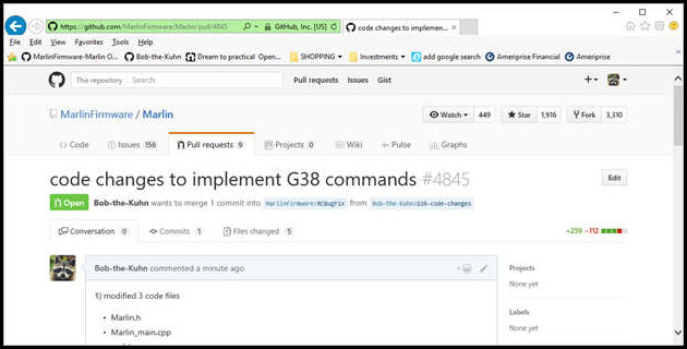 how to create pull request in main repository